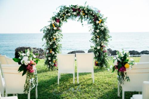 arco matrimonio limoni bouganville mediterranean wedding maioliche (3)