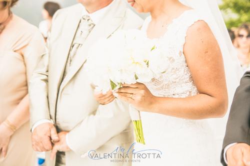 boquet sposa bianco