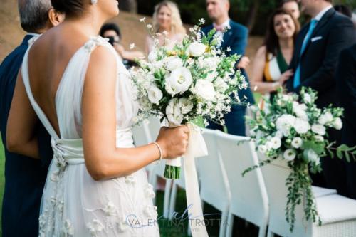 bouquet sposa stile natural bianco
