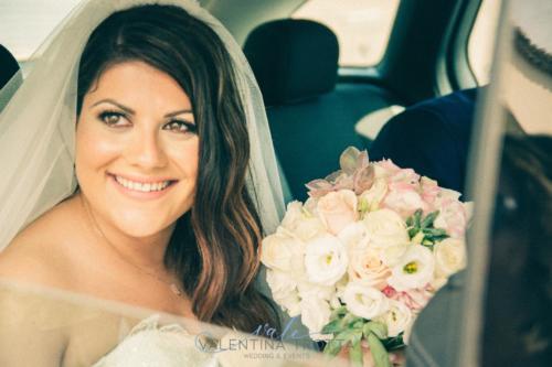 bouquet sposa wedding rosa celeste succulente