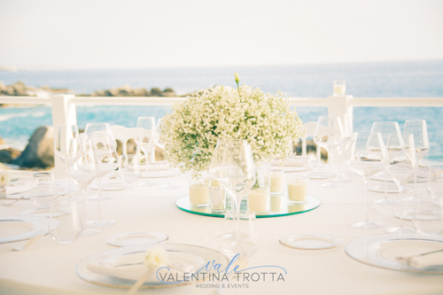 centrotavola nebbiolina wedding total white