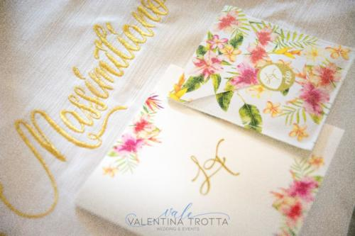 coordinato chiesa luxury wedding tropical colorful