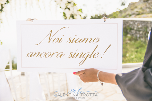 idea cartello paggetto matrimonio