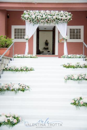 idea fiori chiesa matrimonio romantic wedding maratea