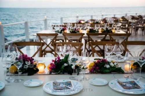 idea mediterranean wedding maioliche