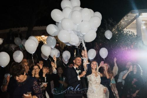 lancio palloncini matrimonio romantic wedding maratea