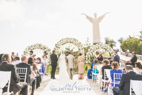 matrimonio statua cristo maratea