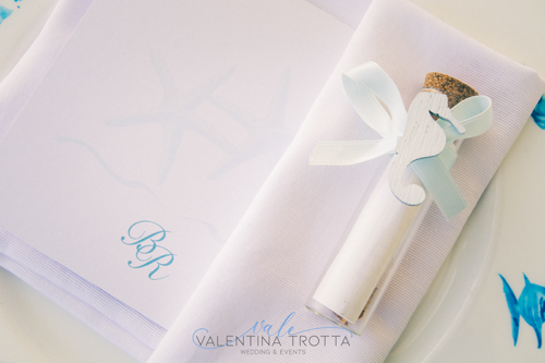 mise en place wedding tema mare