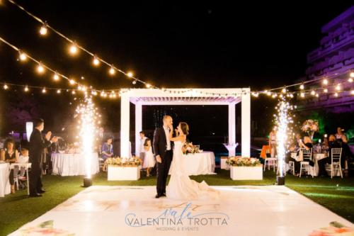 pista da ballo personalizzata matrimonio luxury wedding dancefloor