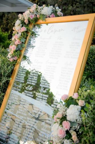 tableau de mariage specchio wedding matrimonio