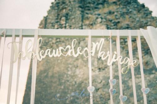 tableau de mariage wedding rosa celeste oro
