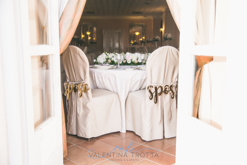 tavolo sposi matrimonio