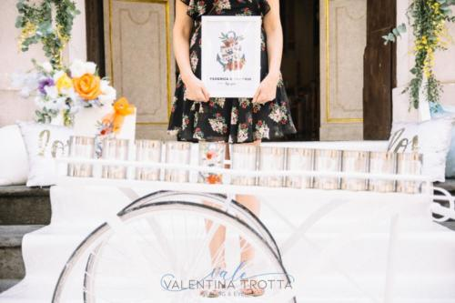 valentina trotta wedding planner colorful wedding just married
