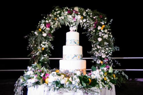 wedding Cake mediterranean wedding maioliche