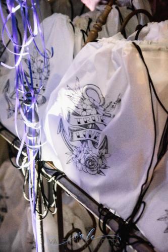 zaino personalizzato matrimonio tatoo
